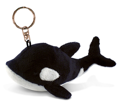Plush Keychain Killer Whale