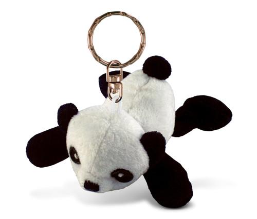 Plush Keychain Panda