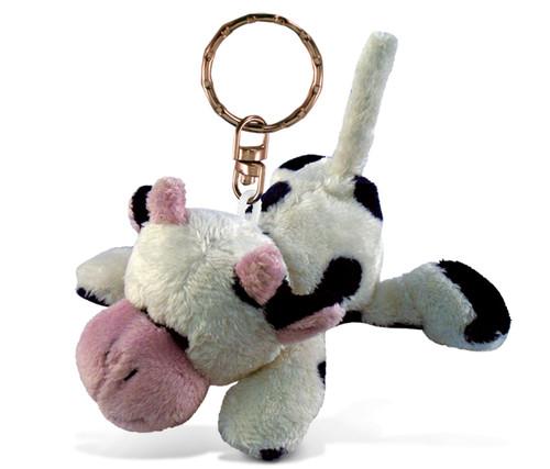 Plush Keychain Cow