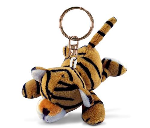 Plush Keychain Tiger