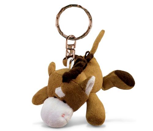 Plush Keychain Horse