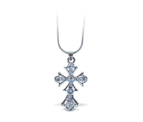 Sparkling Necklace Cross