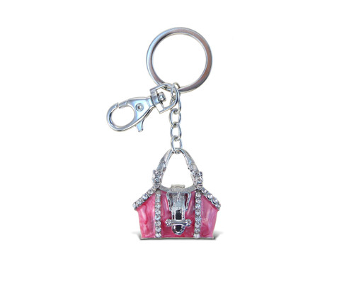 Sparkling Charms Pink Purse