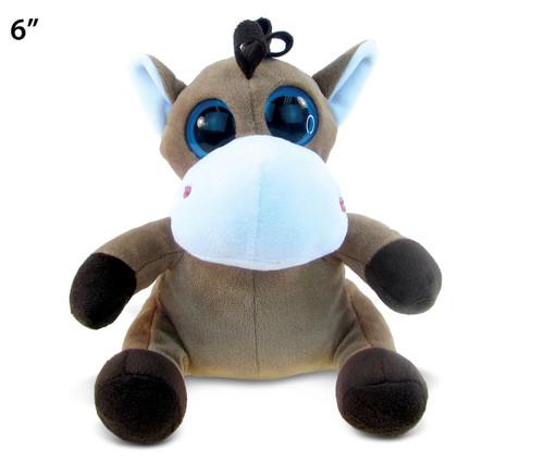 Big Eye Plush Horse