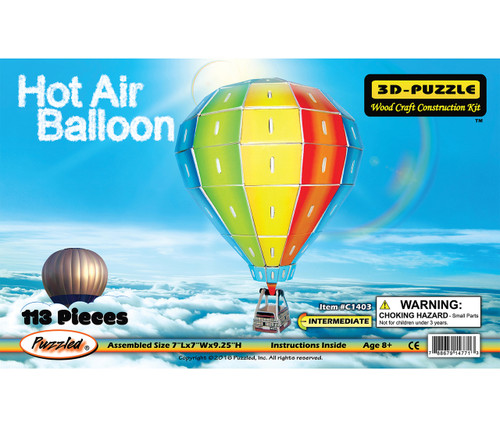 Illuminated 3D Puzzles Hot Air Ballon