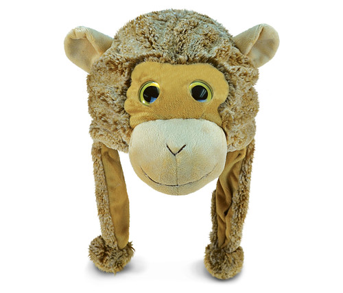 Super Soft Plush Hat Monkey