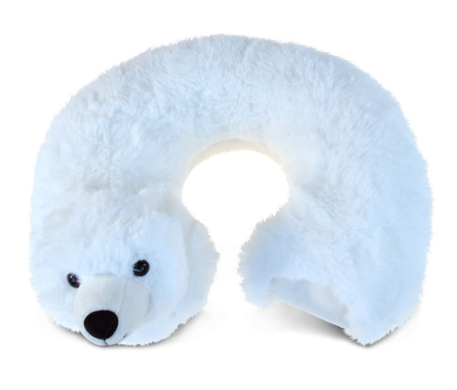 Super Soft Plush Neck Pillow Polar Bear