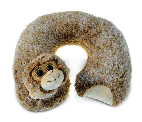 Super Soft Plush Neck Pillow Monkey