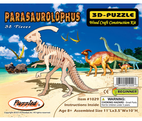 3D Puzzles - Parasaurolophus