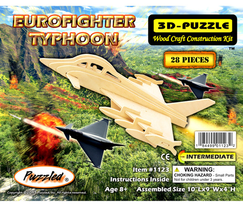 3D Puzzles - Eurofighter Typhoon