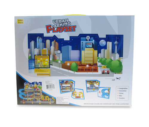 Vehicle Playset City Parking Playset