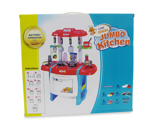 Kitchen Playsets Blue Kitchen Playset with Music and Lights