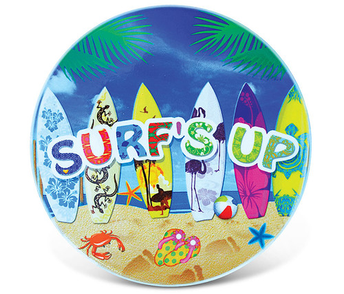 Ceramic Coaster Surf's Up