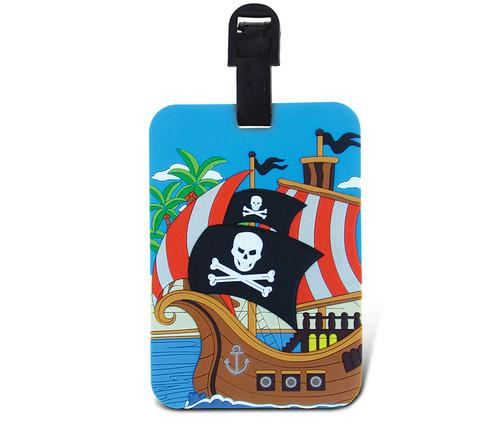 Luggage Tags Pirate Ship