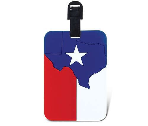 Luggage Tags Texas Flag