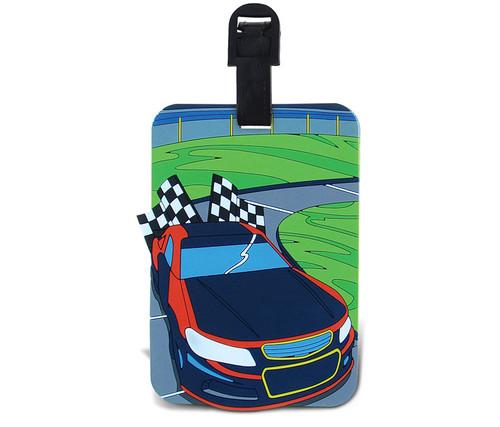Luggage Tags Race Car