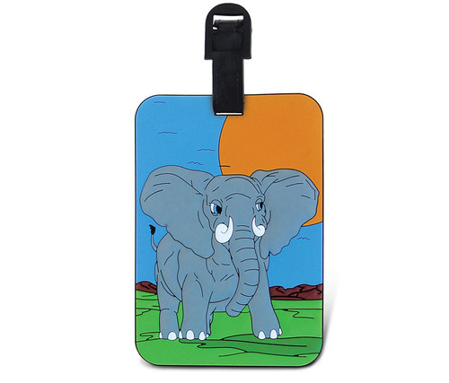 Luggage Tags Elephant