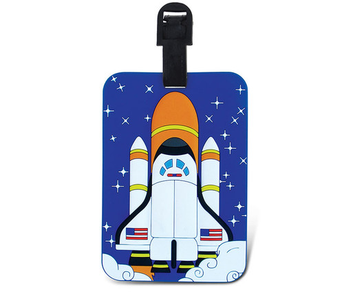 Luggage Tags Space Shuttle