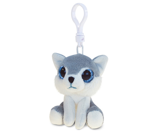 Big Eye Keychain Wolf