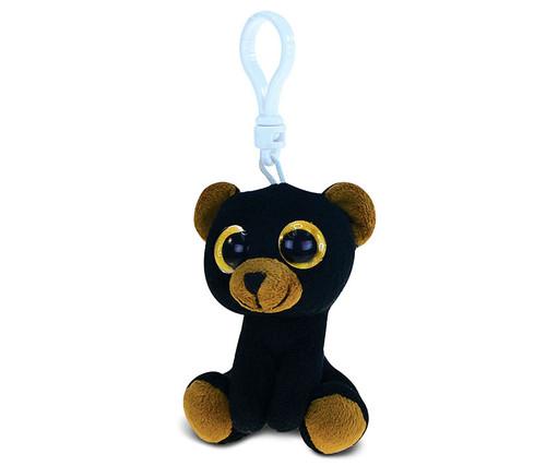 Big Eye Keychain Black Bear