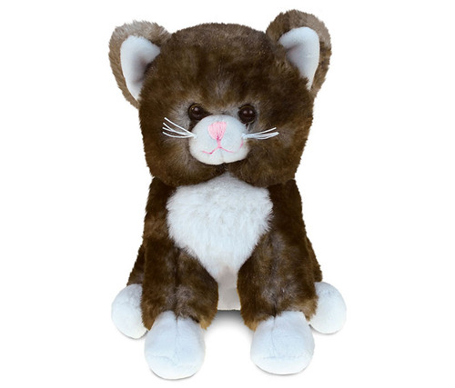 Super Soft Plush Brown Cat