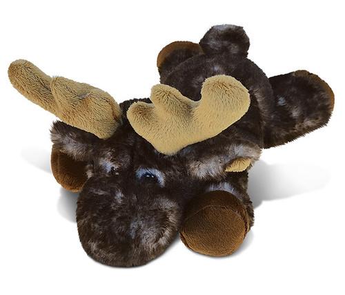 Super Soft Plush Brownish Lying Moose