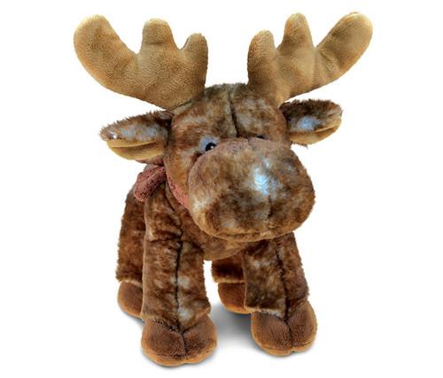 Super Soft Plush Standing Brown Moose