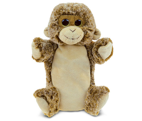 Super Soft Plush Hand Puppet Monkey