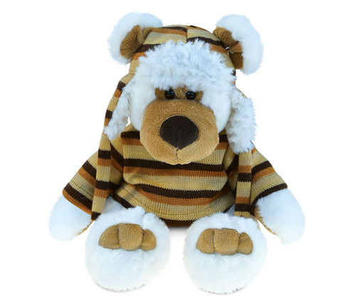Super Soft Plush With Clothes  White Bear