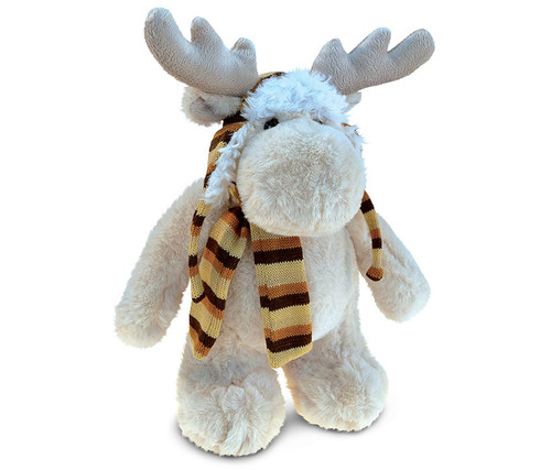 Super Soft Plush With Clothes  Standing Moose