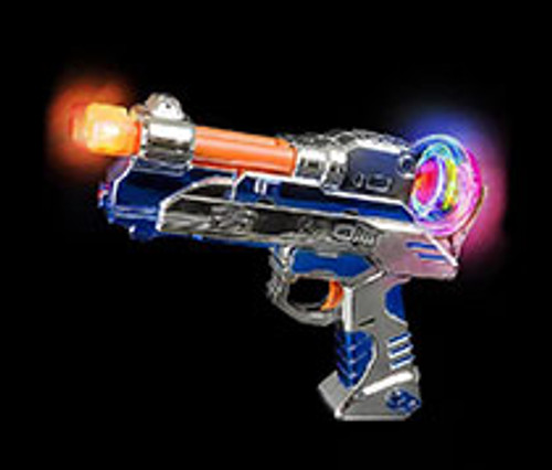 LED Laser Blaster Gun with Sounds Kids Light Up Toy