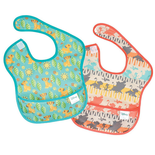 Disney Lion King Super Bib 2 Pack Baby Accessories