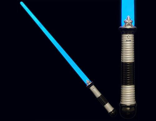 Blue LED Light Saber Pretend Play Toy