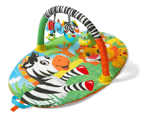 Infantino Explore and Store Jungle Buddy Activity Gym  Baby Accessories