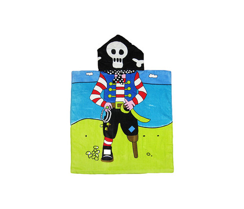 Kids Pirate Hooded Bath Towel Bath Towels