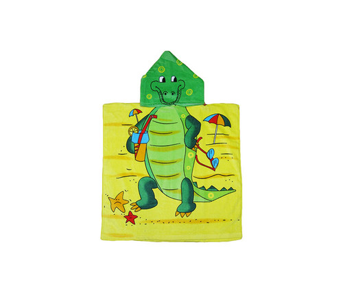 Kids Alligator Hooded Bath Towel Bath Towels