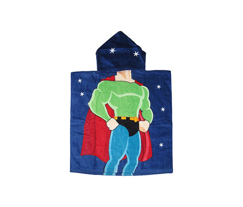 Kids Super Hero Hooded Bath Towel Bath Towels
