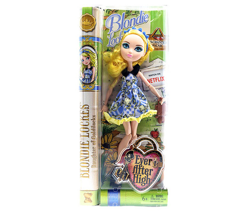 Ever After High Enchated Picnic Blondie Lockes Doll Fairy Tale Doll