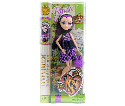 Ever After High Enchated Picnic Raven Queen Doll Fairy Tale Doll