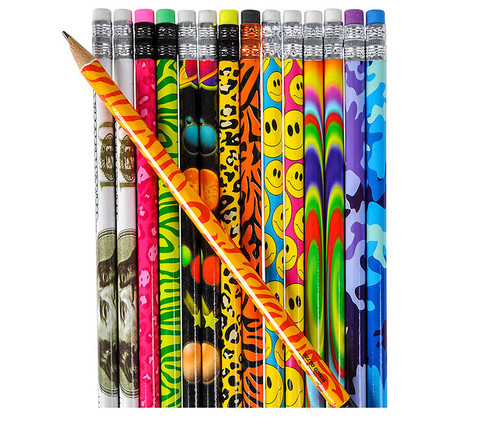 Colorful Pencils - 144 Assorted Count School Supplies