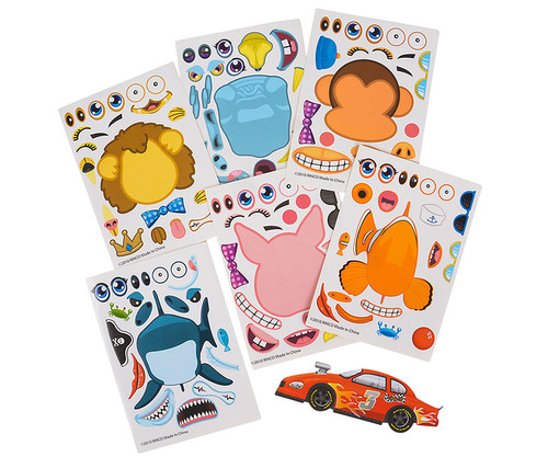 Make Your Own Stickers 96 assorted Pieces Toys & Games