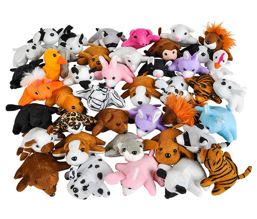 Plush Bean Bag 50 Pcs Assortment Plush Bean Bag