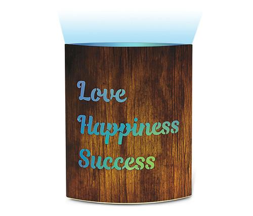 Love Happiness Success Led Lantern