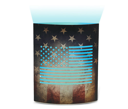 United States of America Flag Led Lantern