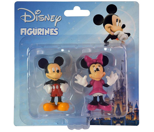 Disney Mickey Mouse and Minnie Mouse (2 Items) Figurines
