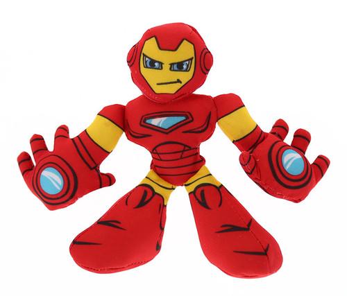 Marvel Super Hero Adventures Iron Man Bean Bashers Toy Bean Bag
