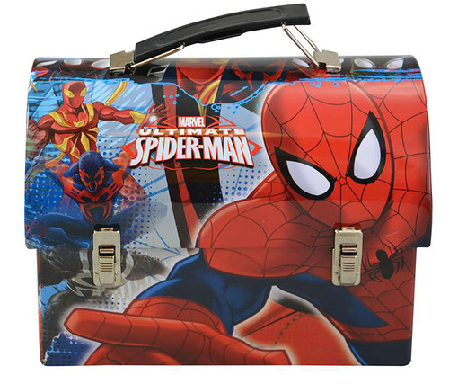 Spider-Man Stainless Steel Utility Tin Lunch Box Lunch Box