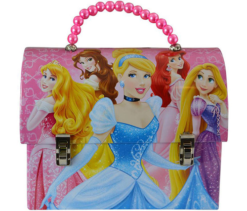 Disney Princess Handbag  Shaped Tin Lunch Box Lunch Box