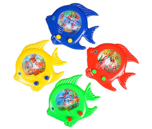 Handheld Fish Ring Water Toys 5 inch 12 piece set  Outdoor Accessory