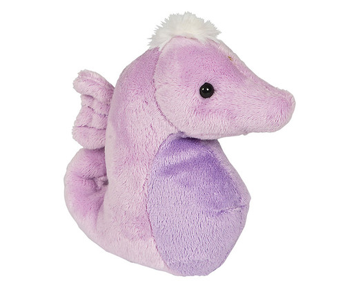 Purple Seahorse Beanie Toy Stuffed Animal Plush